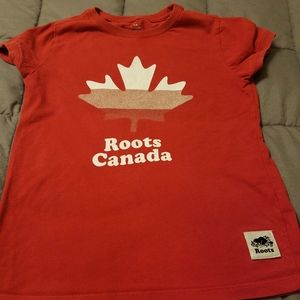 Roots Kids Shirts & Tops - Red Roots Canada shirt